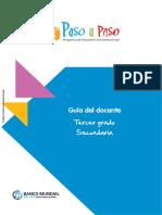 Banco Mundial Manual Paso a Paso 3ro Sec