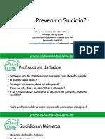 Como Prevenir o Suicídio