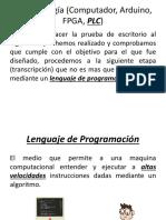 Lenguajes de Programacion y microcontroladores