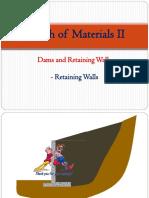 Strength of Materials II - 4C - Dams and Retaining Walls - Retaining Walls