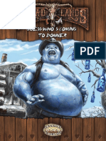 Deadlands Reloaded - Adv - Guess Who's Coming to Donner