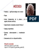 cartagena meiosis