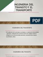 INGENIERIA DEL TRANSITO