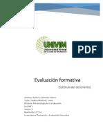 evaluacion formativa