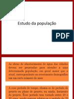 População de Projeto
