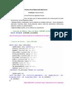 Práctica Final Diplomado en Base de Datos SQL Server