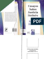 Dieterlen, Paulette - Ensayos Sobre Justicia Distributiva