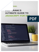 DeepCrawl Ultimate Guide to JavaScript for SEO