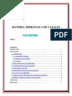 Estudio de Flujos Trabajo 2 Hidraulica