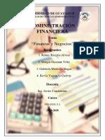 Tema Final Administracion Financiera Exposicion