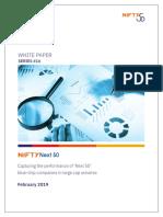 NIFTY Next 50 White Paper 2019 Final