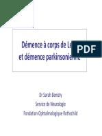 Démence à Corps de Lewy Et Démence Parkinsonienne - Dr S_ BENISTY(2)
