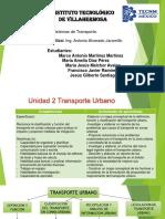 2da Unidad Sistema de Transportes