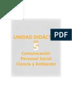 Unidad Didactica Integrada 5to Grado