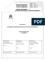 Protocolo Orientación TENS Específica