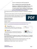 Openfire XMPP Server on Windows Server 2012 R2 With Spark SSO