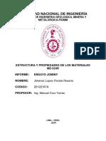 Primer Informe Estructura