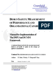 Design Safety - Measurement of Performance and 4