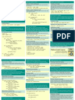 Beginners Python Cheat Sheet Pcc Pygame