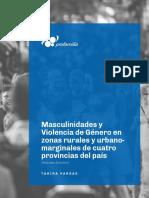 Profamilia_Resumen Ejecutivo Masculinidades