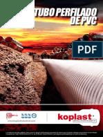 ficha técnica tubería perfilada de PVC
