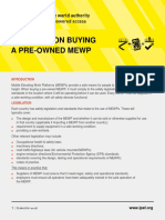 IPAF-MEWP Buying a Pre-Owned