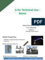 2 Metals for Technical Use [Reparado]