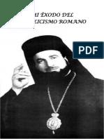Mi exodo del catolicismo romano