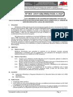 Directiva Semaforo Escuela 2019 Ugel Concepcion