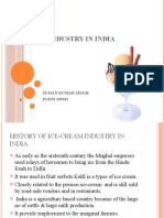 Ice-cream Industry in India