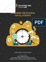 Reimagining Time in School for All Students