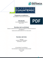 Ana Polonia Galeano_Actividad 2.3_ Implicaciones Delm Uso de La GCT en Educación