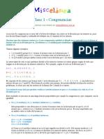 Miscelánea - Olimpiada Matemática Argentina (2001) - 31 Pags