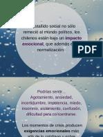 Crisis Emocional Chile 2019