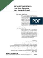 Artigo - Mediação socioambiental