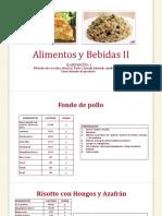 Recetas AYB II Clase 2