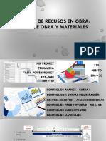 Control de Recursos en Obra - Mano de Obra y Materiales[1]