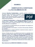 Derechos Fundamentales en Colombia