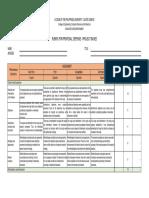s2019 Proposal Defense Rubric