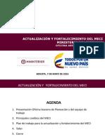 Presentacion Actualizacion Meci 2015