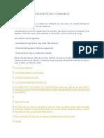 Criterios de Inversion Estatico y Dinamicos