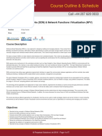 Software Defined Networks (SDN) & Network Functions Virtualization (NFV)