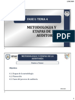 etapas de auditoria