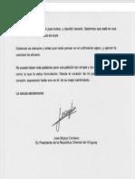 Carta Mujica (segunda parte)