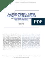 Stopmotion Tecnica Resistencia