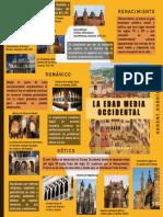 Edad media occidental (infografia)