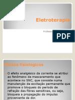 Eletroterapia slide
