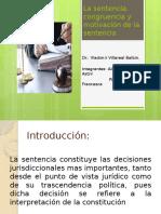 La sentencia, congruencia y motivación de la.pptx