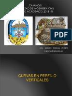 Caminos i 2018 - II (04 Dg Curvas Verticales)-1