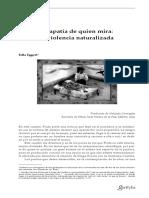 La apatia de quien mira (violencia naturalizada).pdf